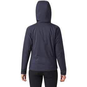 Mountain Hardwear Kor Strata Hupullinen Takki Naiset, dark zinc
